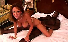 Amateur mature housewife interracial cuckold fucking with