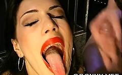 Wild cum-hole pleasuring for attractive babes