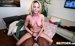 Huge tits blonde sweetie Sindy Lange fucked by jumbo cock