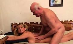 68yo grandpa and his 19yo girl