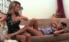 Super hor blond housewife gets her first