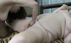 Big white old woman is being fucked