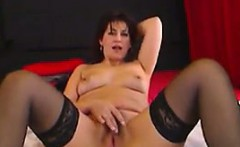Mature Cam Woman In Stockings