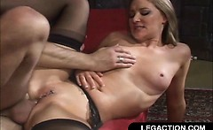 Hard Anal Fuck For Blonde