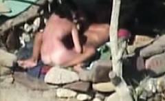 Wild Beach Sex caught on spy camera