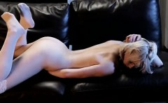 blonde babe zoey paige spends an evening alone on her knees