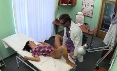 Nurse and doctor fucking patient in fake hospital