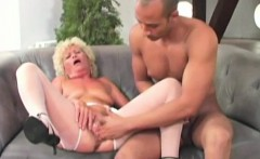Granny Gives A Good Old Blowjob