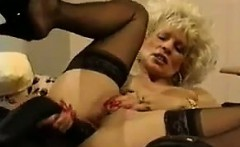 Blonde MILF Masturbating