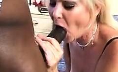 Granny Enjoying A Big Black Cock
