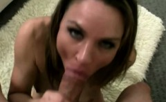 Dick loving petite milf eager pov bj