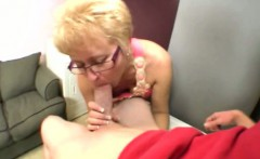 Spex mature cougar hungry for cock