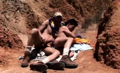 Latin boy scouts get lost in the desert and start sucking