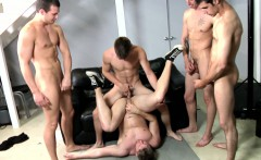 Gay orgy climax for Blaze and the dudes