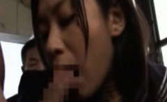 Publicsex asian group fucked on the bus