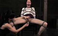 Chair bondage sluts nipple torture
