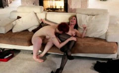 Nina Hartley and Lily Cade lez fingering