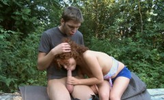 Round a-hole lovely teen is nailed rough