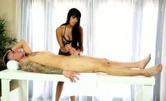 mercedes carrera performs footjob