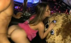 Disrobe dancer screwed at hen-party