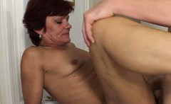Redhead Cougar Has Her Way With Young Boy