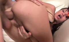 Glamour model ass cumshot