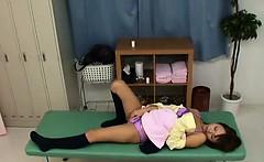Schoolgirl tricked by Schooldoctor