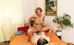 Extremely eager amateur milfs gets lesbian