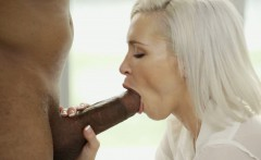 BLACKED Blonde Girlfriend Kacey Jordan Cheats with BBC