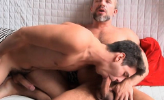 Dirk gets his huge dick on Dylans tight ass