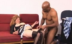 Mature Woman Gets Seduced By A Strong Man