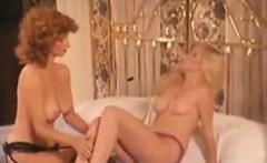 Horny Lesbians In Bed With A Toy Classic
