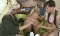 Two Horny Teens And One Kinky Mother