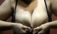 Mom Squirting Milk From Her Big Tits