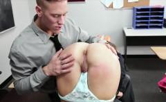 Naughty schoolgirl Ariana Grand slammed by her nasty teacher