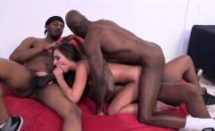 Euro Babe Amirah Adara Gets Gang Banged By Black Men