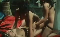 Naughty Asians Sluts With A Horny Guy