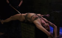 Teens pussy toyed rough