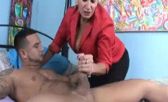 milf wants to taste a young cock when husbands away
