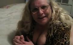 Big Mature Woman Wearing Black Panties