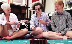 Girls Out West - Three hairy lesbians fuck
