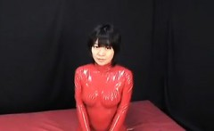 Japanese Latex Catsuit 52 - Date her on ASIA-MEET.COM
