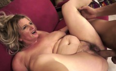 Hairy Granny'S Pussy Is Licked And Nailed