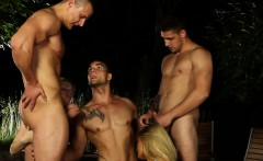 Bisex dude jizz soaked
