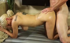 Seductive and blonde Kenzie Taylor gets hammered by Romeo