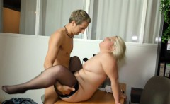 Real Porn Casting for Young Boy with Female Porn Agent