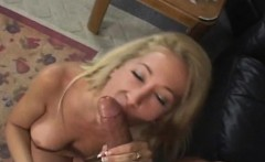 Busty Blonde Andrea Jaxxx Gets A Pussy Pounding