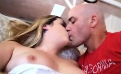 Big boobed blonde MILF takes place of stepsons girlfriend