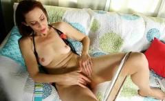 Porn and pantyhose will soak her panties