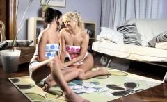 Sapphicerotica lesbians enjoy exploring each other